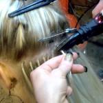 Наращивание волос. Шаг 2