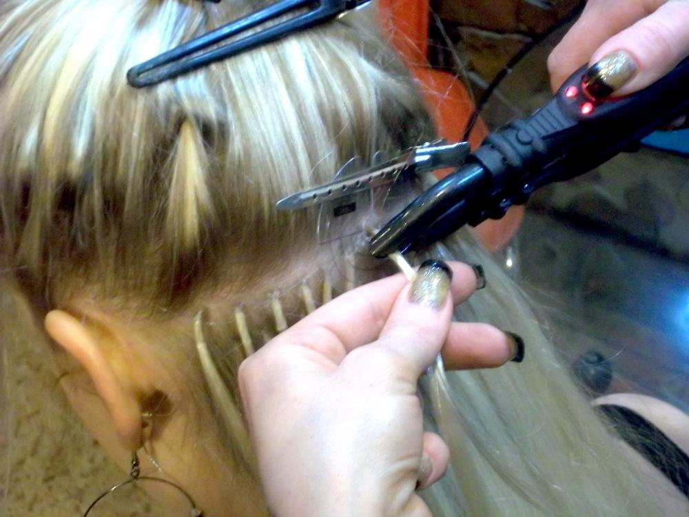 Наращивание волос кератином - «Мой многолетний опыт