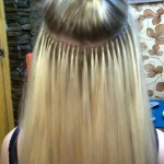 Наращивание волос. Шаг 3