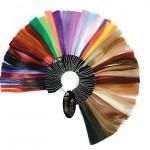 Палитра для подбора цвета наращенных волос