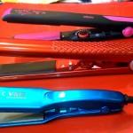 Утюжки для выравнивании (выпрямления) волос различной формы с тефлоновым покрытием и украшением Сваровски
